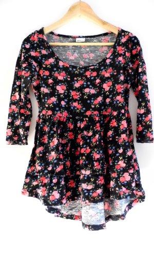 Blümchen Peplum Shirt