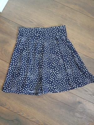 Tally Weijl Skater Skirt white-dark blue