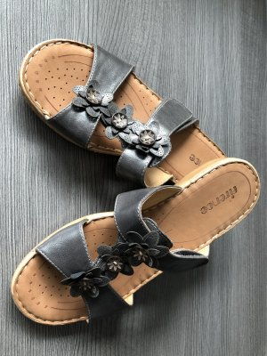 FIERCE BRAND Sandalo con cinturino grigio