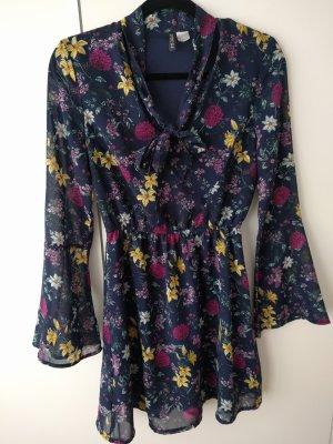 H&M Robe chiffon multicolore polyester