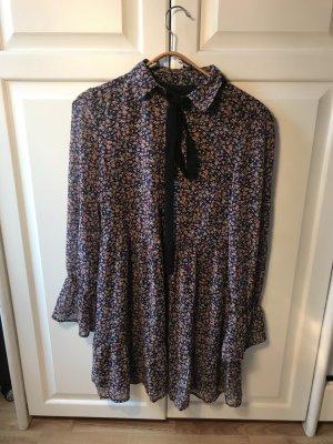 Blümchenkleid | Langärmeliges Kleid
