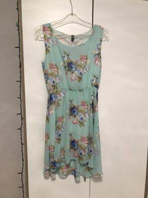 Madonna Chiffon Dress turquoise