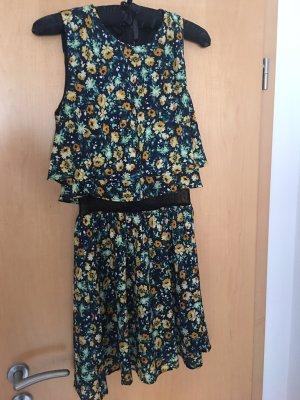 Zara Trafaluc Lace Dress multicolored