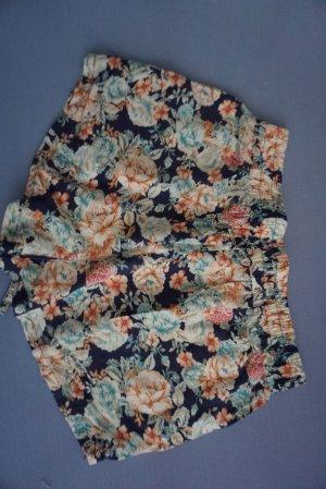 Pantalon court multicolore