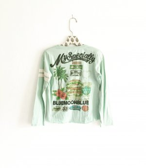 bluemoonblue shirt / vintage / japan / mint
