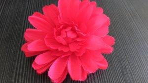 Blüte rot Haarschmuck NEU!!! Spange Brosche Haargummi