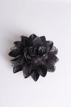 Blüten-Anstecker mit Glitzer