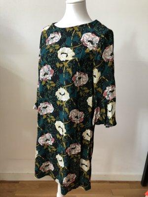Blüten-Print Kleid