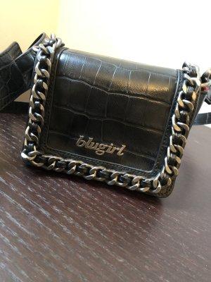 Blugirl Blumarine Gekruiste tas zwart-zilver