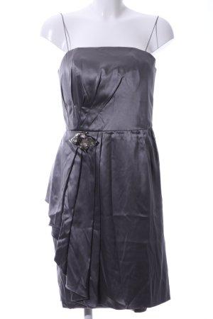 Blugirl Blumarine Evening Dress silver-colored wet-look