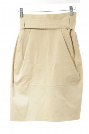 Blugirl Blumarine Pencil Skirt beige simple style