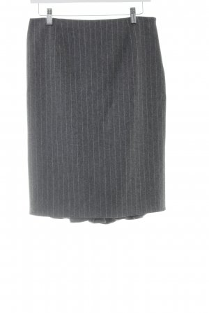 Blugirl Blumarine Pencil Skirt grey-light grey pinstripe elegant
