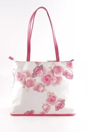 Blugirl Blumarine Henkeltasche Blumenmuster Romantik-Look