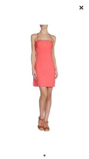 Blugirl blumarine Kleid - Lachs Gr 40 Strech np 259€
