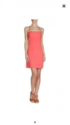 Blugirl blumarine Kleid - Lachs Gr 40 Strech np 259€ - osterpreis-sale