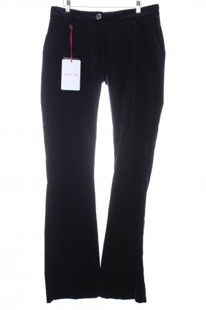 Blugirl Folies Trousers dark blue velvet appearance