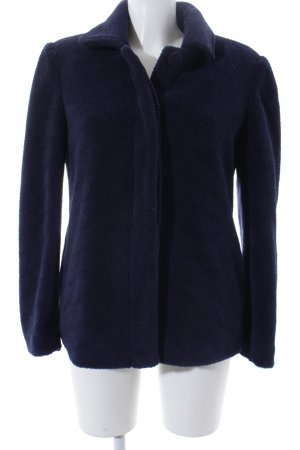 Blugirl Folies Winter Jacket dark blue fluffy