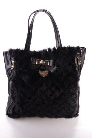 Blugirl Handtasche schwarz extravaganter Stil