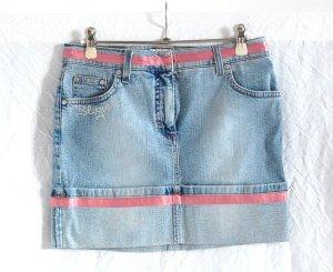 BLUGIRL Jeans Mini mit Satinborte - NP 229 €