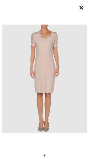 Blugirl Kleid - wunderschön mit Strass - beige Gr 36 -490€