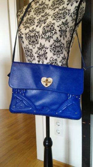 Blugirl Tasche Royalblau Clutch