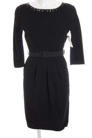 Blumarine vestido de globo negro estilo «business»