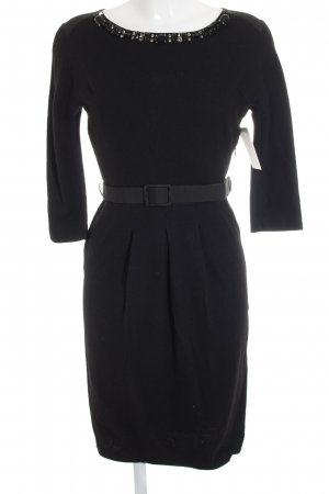Blumarine Robe ballon noir style d'affaires