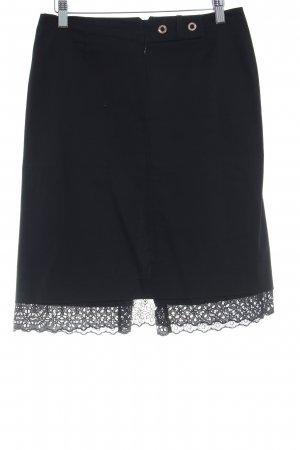 Blumarine Falda de tubo negro estilo «business»