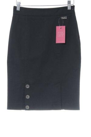 Blumarine Falda de tubo negro elegante