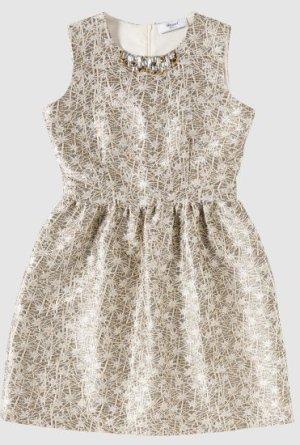 Blumarine Sheath Dress silver-colored-white polyester