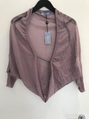 Blumarine Boléro en tricot mauve