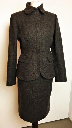 Blumarine Ladies' Suit dark brown-olive green wool