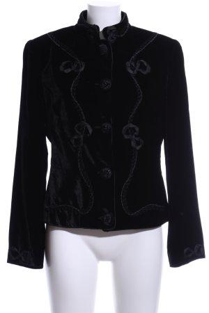 Blumarine Short Jacket black vintage look