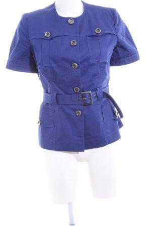 Blumarine Long Blazer blue business style