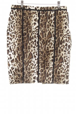 Blumarine Minifalda estampado de leopardo estampado animal