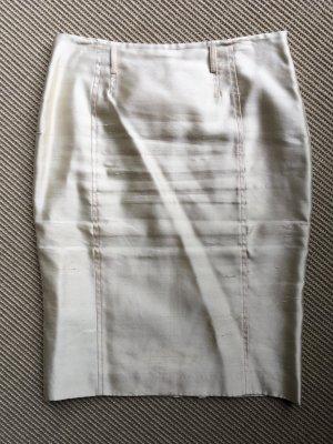 Blumarine Pencil Skirt natural white silk