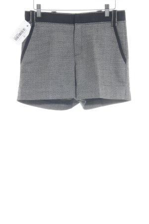 Blumarine Shorts schwarz-wollweiß grafisches Muster Elegant