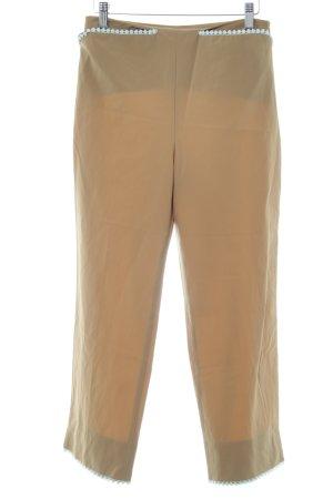 Blumarine Stoffhose beige-graugrün Casual-Look