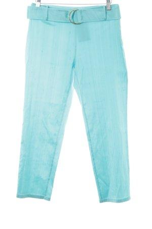Blumarine Stoffhose hellblau extravaganter Stil