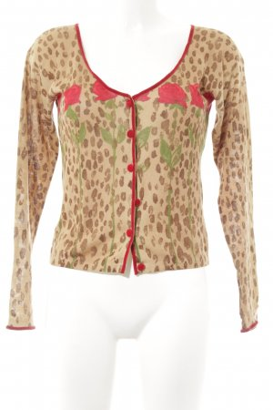 Blumarine Strickjacke Animalmuster Animal-Look