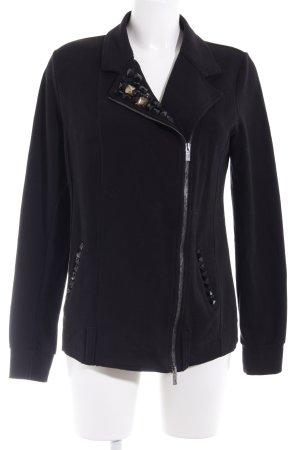 Blumarine Knitted Vest black casual look