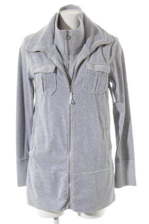 Blumarine Sweat Jacket light grey athletic style