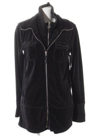 Blumarine Sweat Jacket black athletic style
