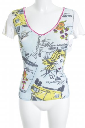 Blumarine T-Shirt grafisches Muster Casual-Look