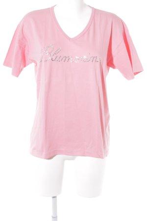 Blumarine T-Shirt rosa Casual-Look