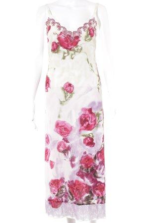 Blumarine Trägerkleid florales Muster extravaganter Stil