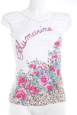 Blumarine Trägertop Blumenmuster Casual-Look