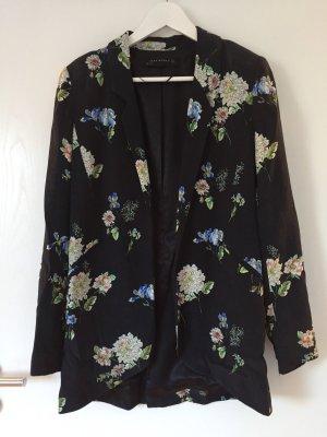 Zara Woman Blazer largo multicolor