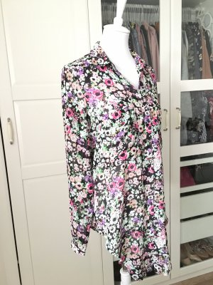 Zara Long Blouse multicolored