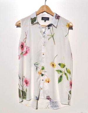 Blumen Bluse top Sommer